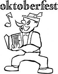 German Oktoberfest Coloring Sheets Google Search German