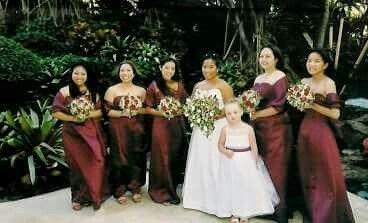 Bride Amber & bridesmaid