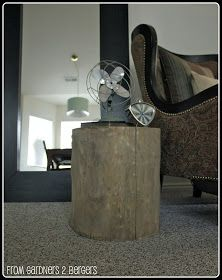DIY West Elm Tree Stump Table Tree Stump Table Elm Tree - West elm wood stump side table