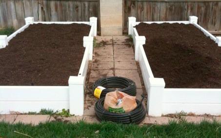 How To Build A Vinyl Square Foot Garden Box Garden Boxes Square