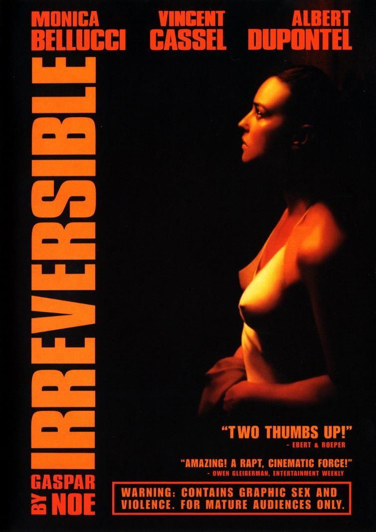 Irreversible 2002 Filmes Historia Do Cinema Cartazes De Filmes