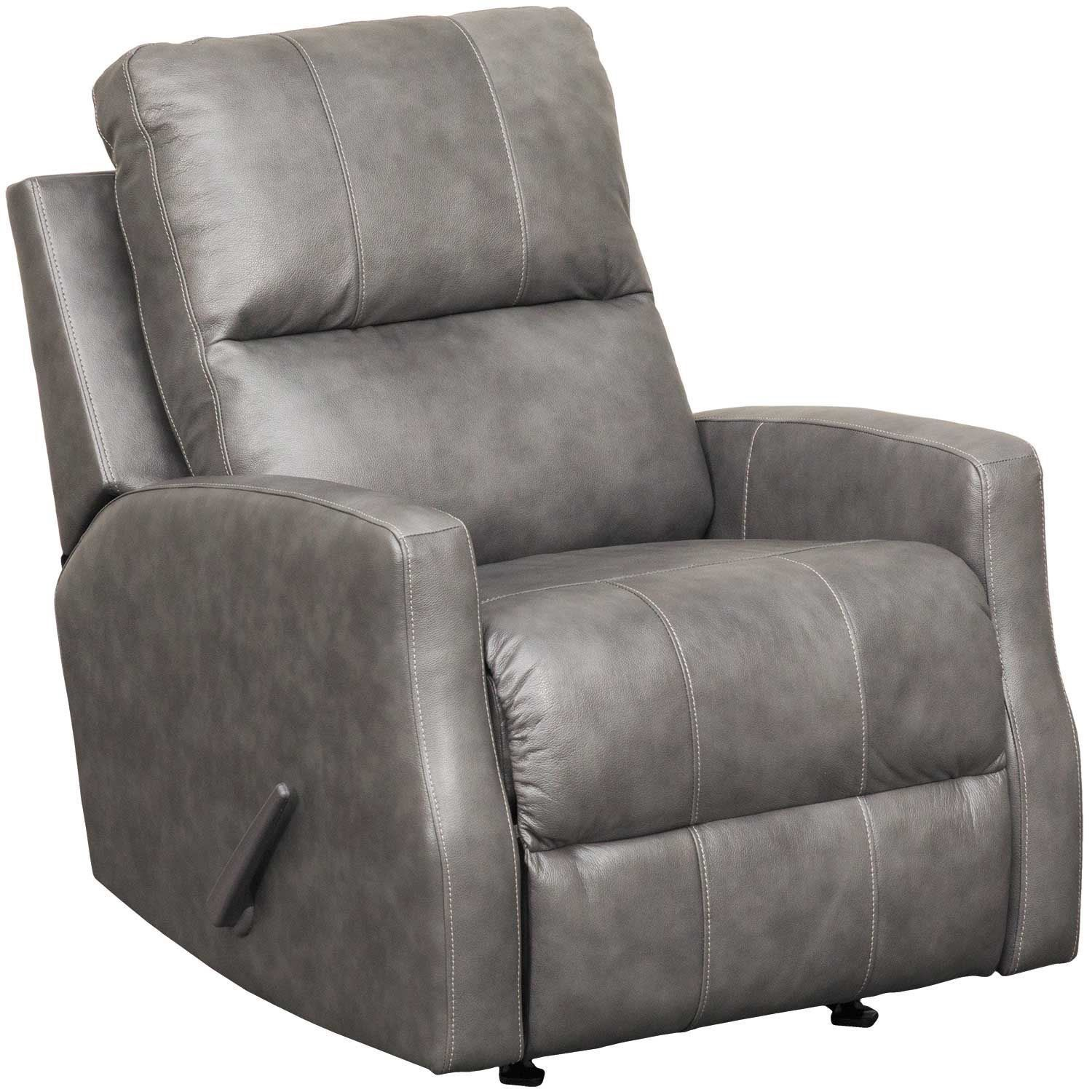 Ashley Furniture Recliner Chairs Get Comfy In The Gulfbay Charcoal Leather Recliner From Ashley
