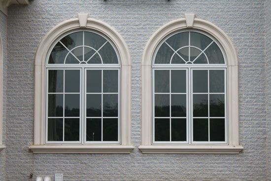 Precast Concrete Window Trim Exterior Modern Window Design House Front Design