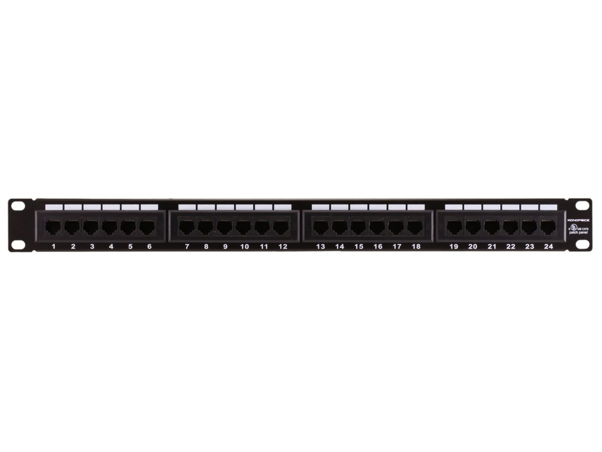 DailyDeal, 6/1 25 off Cat6 Patch Panel 110 Type 24 Port