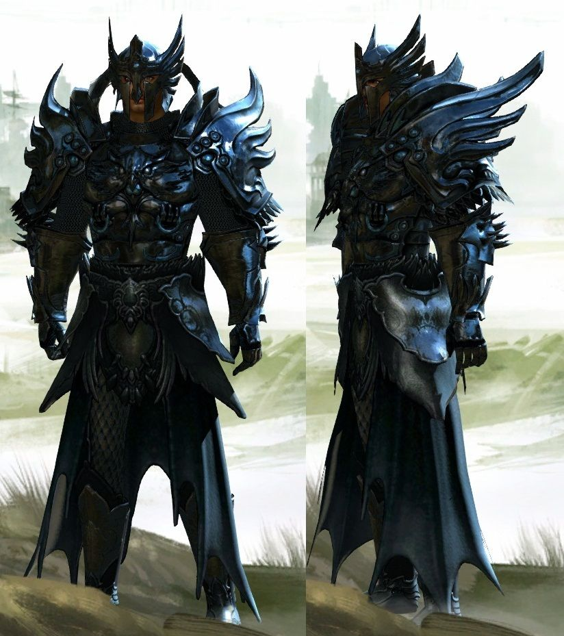 Helm,Chest, Shoulders, Arms: Avenger's set from Divinity Cultural