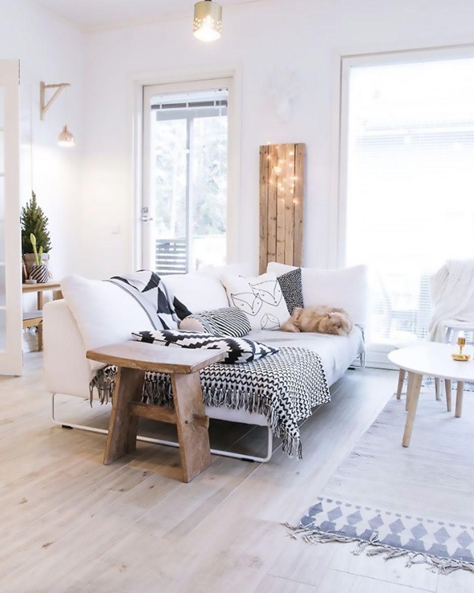 Un canapé pour ma déco scandinave  Living room scandinavian