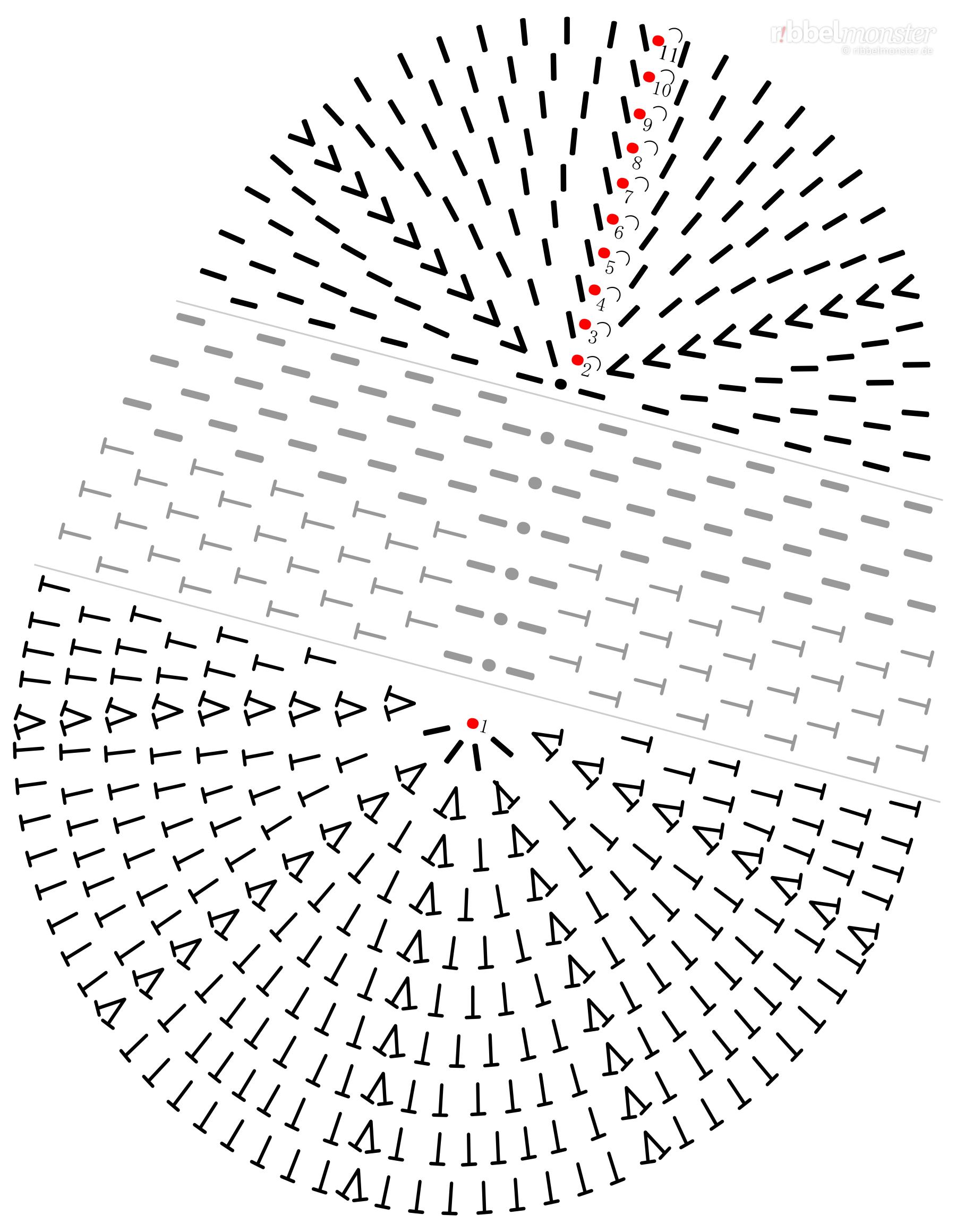 Schuhe Häkeln Ergonomische Sohle Häkelschrift Häkelmuster