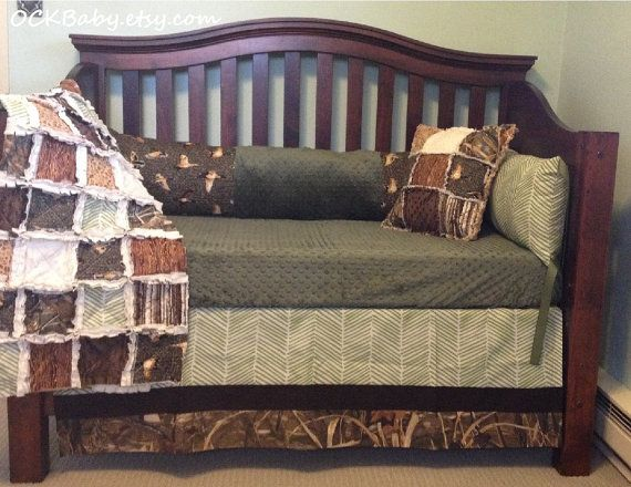 Duck Hunt Custom Baby Bedding And Nursery Sets Hunting Camo Deer Design Your Own