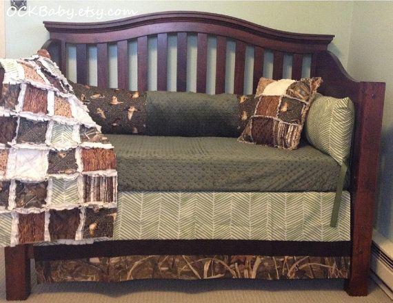 DUCK HUNT Custom Baby Bedding And Nursery Sets