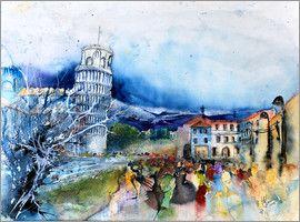 Hartmut Buse - Pisa Piazza dei Miracoli