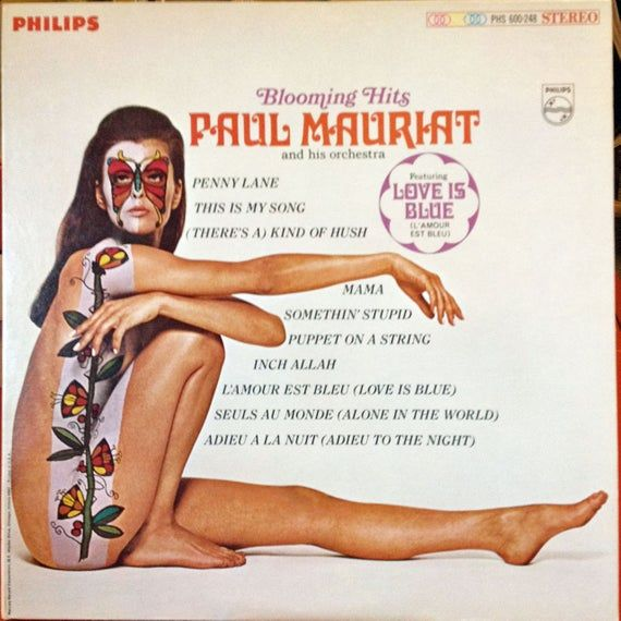 Paul Mauriat - Blooming Hits 1968 Vinyl Record with  Iconic Cover