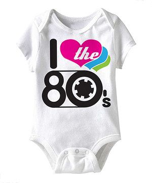 Though Little One S May Have Not Lived Through This Iconic Decade Showing Love Is No Problem With This Righteous B Kids Outfits Baby Fashion American Classics