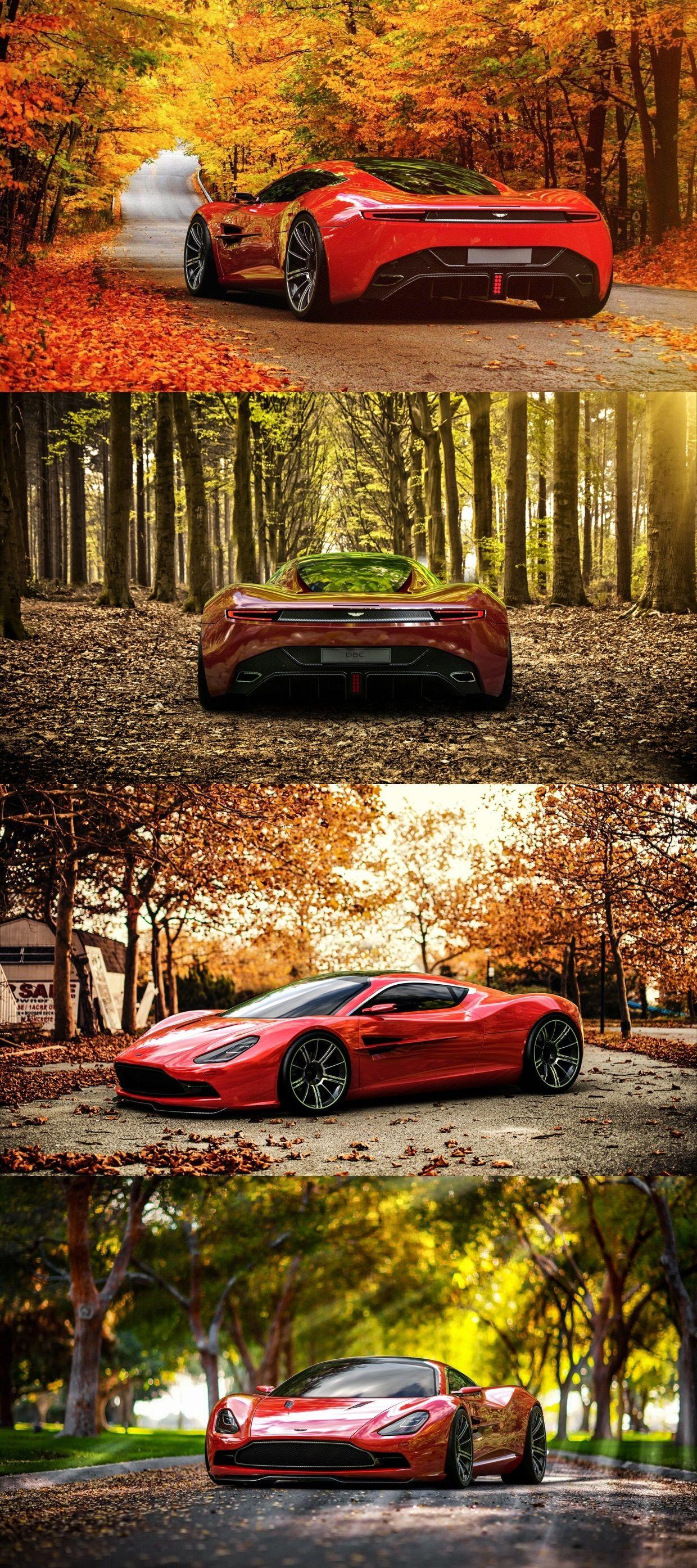 Qué maravilla de Aston Martin DBC!!!