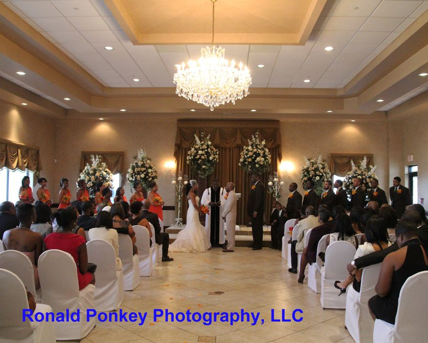 Crystal Gardens Banquet And Conference Hall And Chapel In Southgate Wedding Ceremony Shots