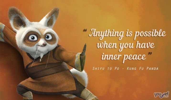 Inspiring Quotes From Your Favorite Disney Characters V Kung Fu Panda Cartoon Quotes Inspiring Quotes About Life