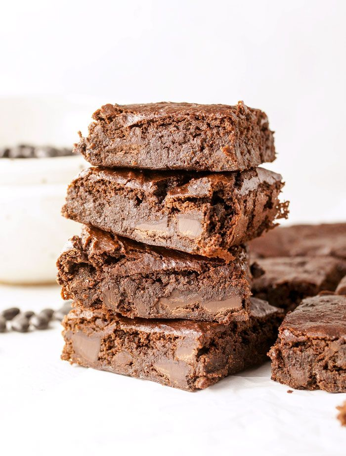 Vegan Flourless Black Bean Brownies Black Bean Brownies Flourless Bean Brownies