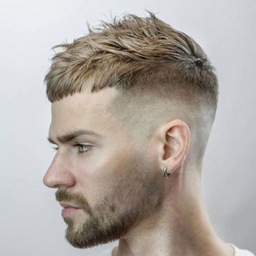 25 Men's Haircuts Trending Now Messy Short Textured Cropped Top Haircut For Balding Men - Best Haircuts and Hai...,