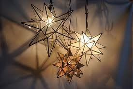 I love Moravian stars!! | Glass star light, Star pendant ...
