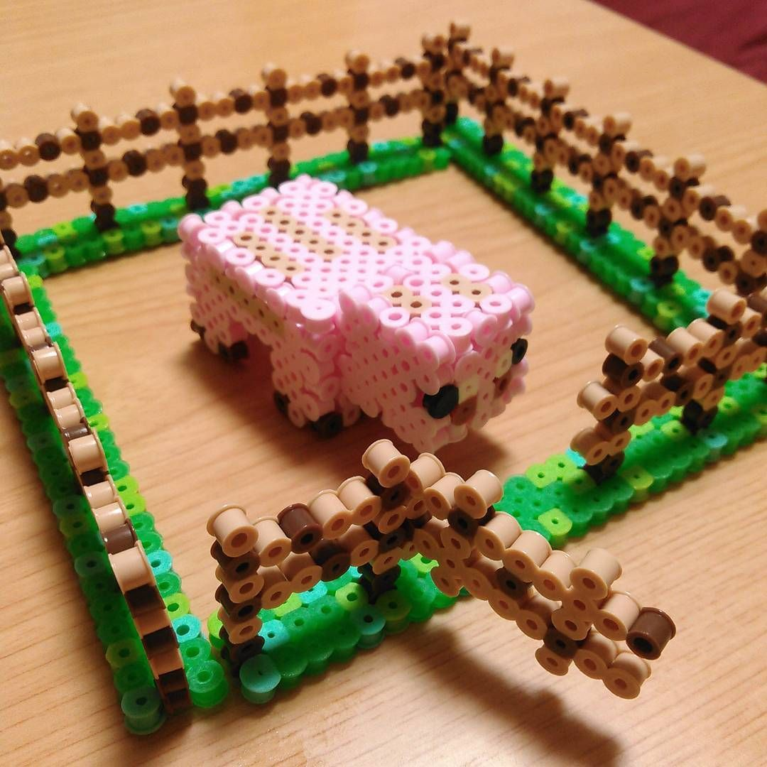 Minecraft perler beads by shena_1983