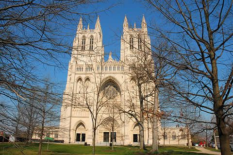 National Catherdral, D.C. This is where Mrs. Landingham had her funeral!