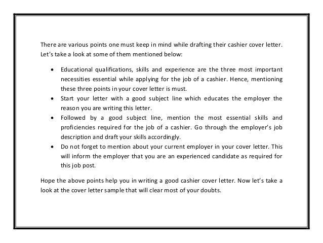 Cover Letter For Cashier Cover Letter For Cashier Pdf 28 Images Cashier Cover  Minouette .