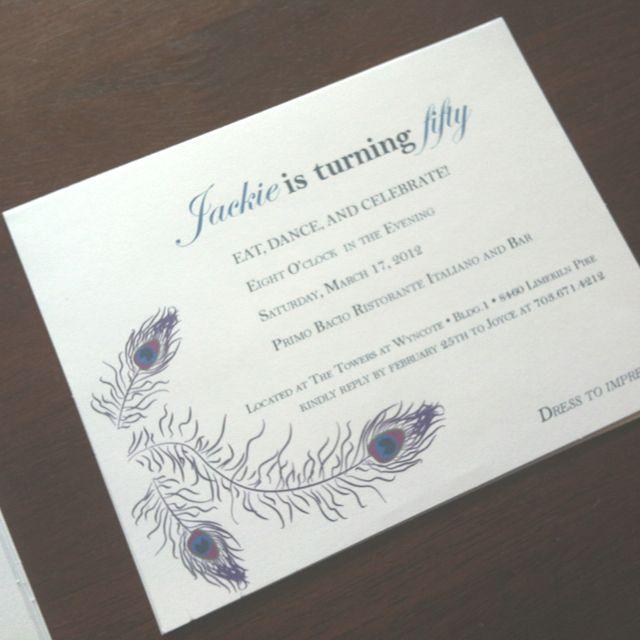 50Th Invite was best invitation ideas