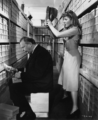 Jean Arthur And Charles Coburn In The Fabulous The Devil And Miss Jones The Title Really Has Nothing To Do With The Plot Www Ourvintagelife Com
