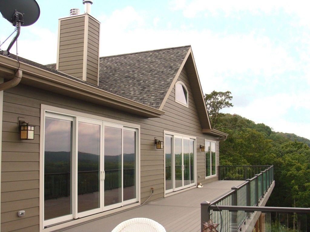 James Hardie Lap Siding Timberbark Siding Cobblestone Trim Eureka Mo Hardie Siding James Hardie Siding House Exterior