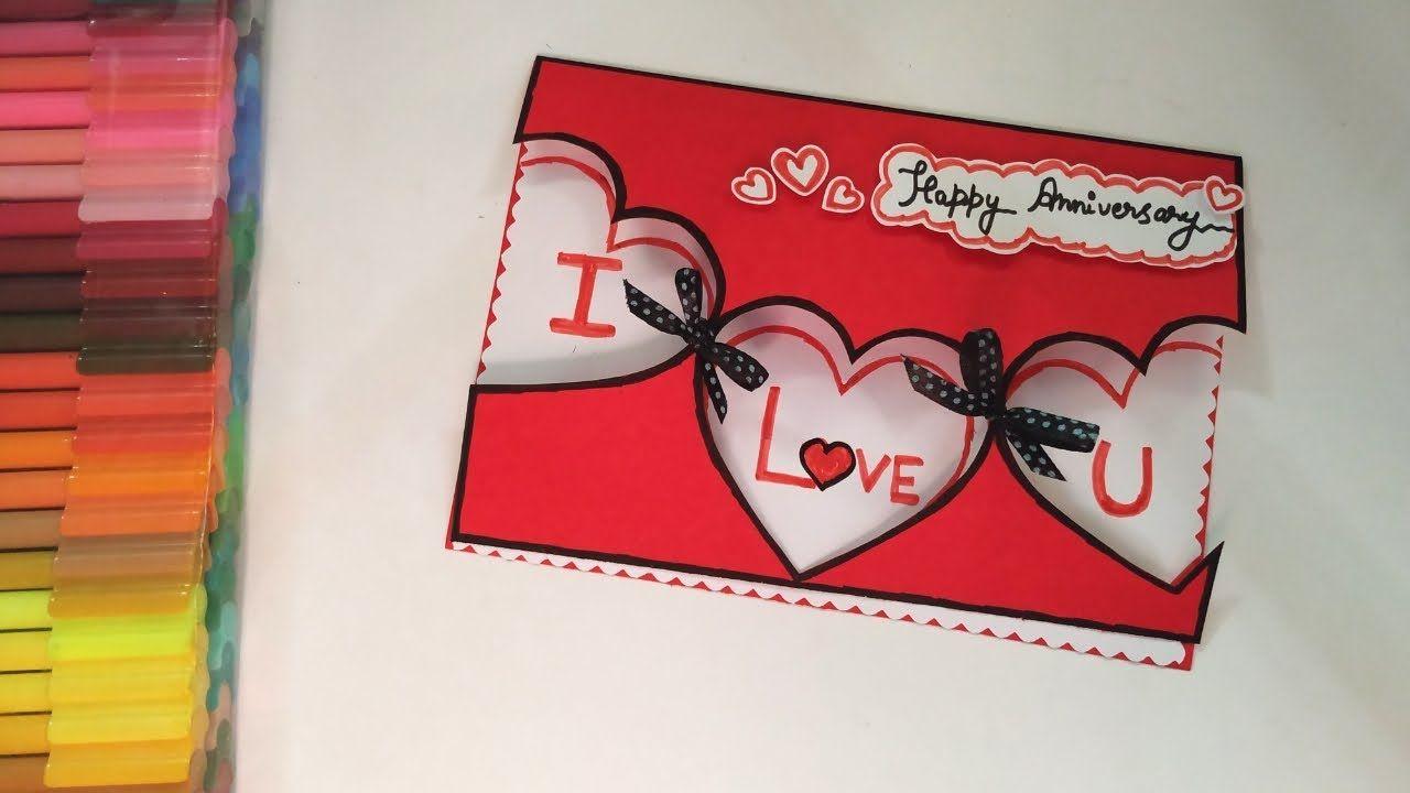 easy and beautiful anniversary card idea anniversary card
