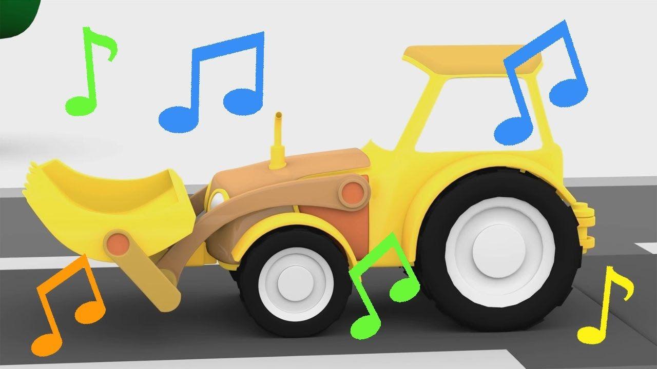Cartoni Animati Per Bambini La Canzone Del Trattore Canzoni Per Ba Canzoni Per Bambini Bambini Cartoni Animati