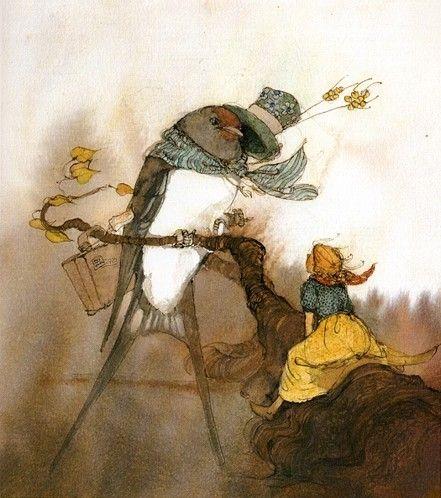 Thumbelina ~ by Lisbeth Zwerger