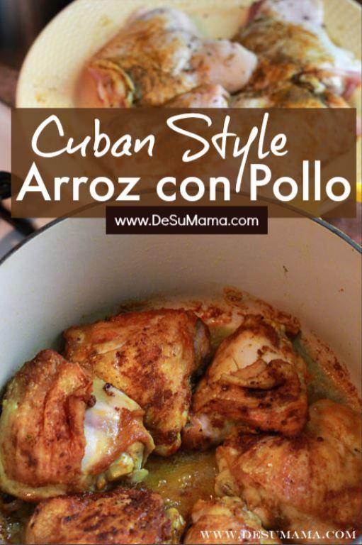 The Best Cuban Arroz con Pollo Recipe