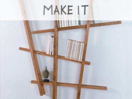 Diy : Fabriquer Une Étagère À Partir De Tasseaux | Aménagement