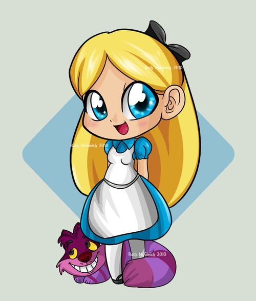 Disney Alicia En El Pais De Las Maravillas Por Ruthiedoodle