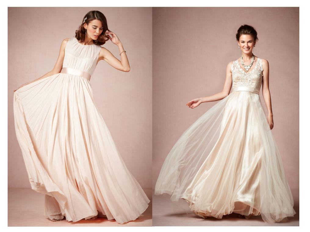 Envueltos en romanticismo puro, estos vestidos de novia 2014 de ...