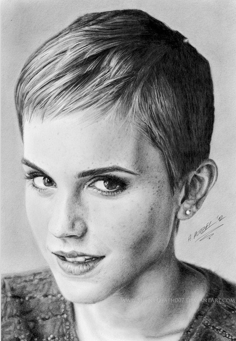 Arte Pinturas óleo Rostros Mujeres Dibujos A Lápiz Dibujo
