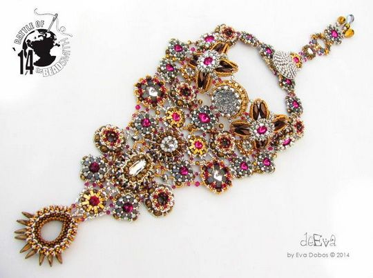 Beautiful necklaces from BOTB 2014 (III) | Beads Magic