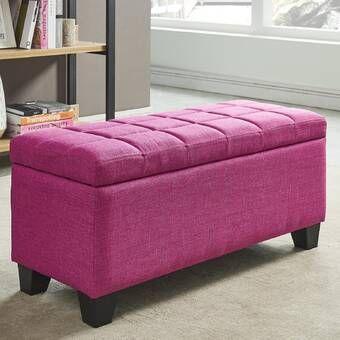 Magnificent Zaylee Storage Ottoman Machost Co Dining Chair Design Ideas Machostcouk