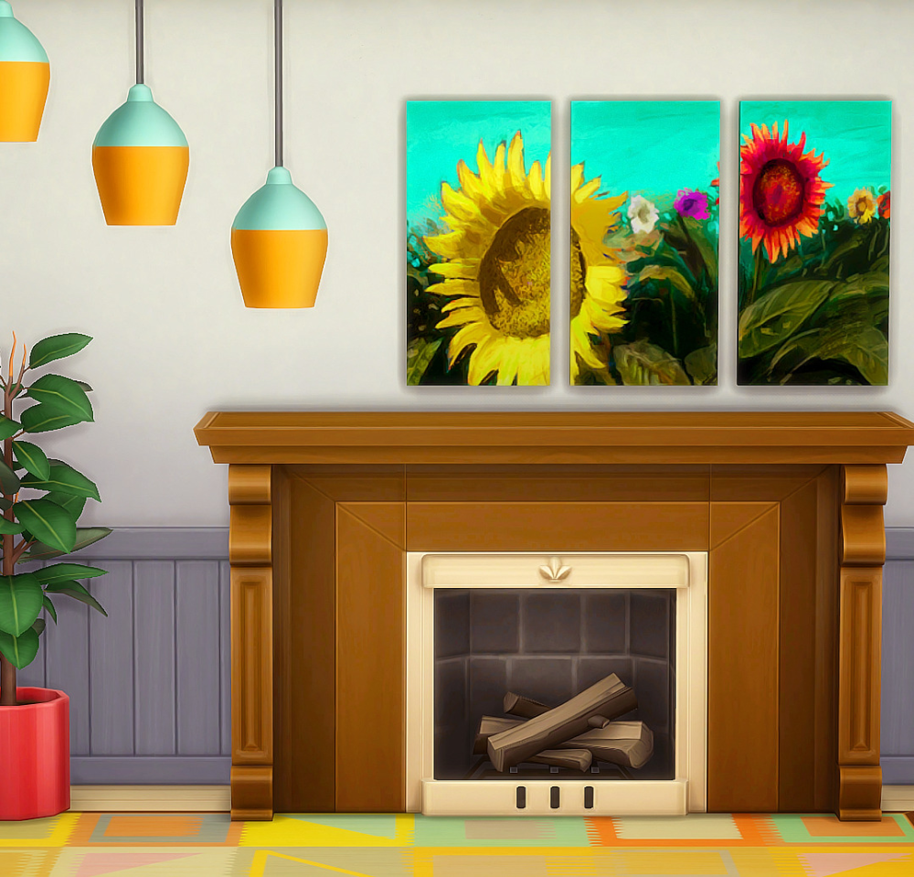 Pin by becca grace on sims 4 cc | Fireplace, Decor, Maxis ...