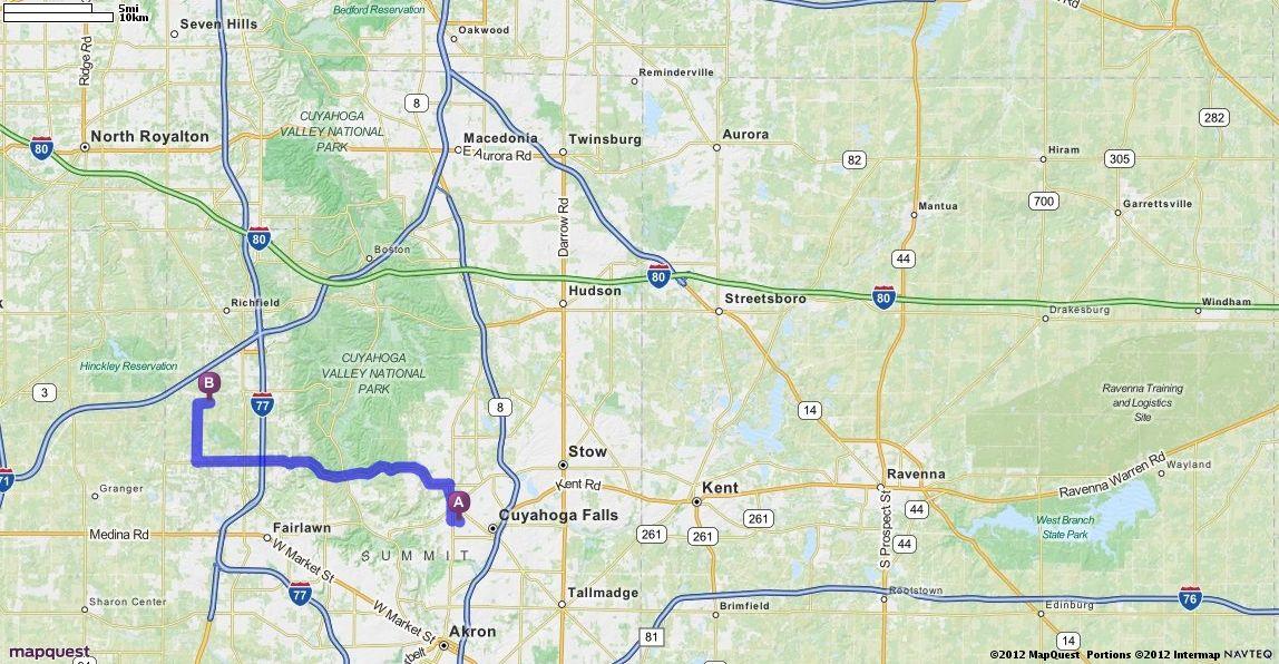 Mapquest Akron Ohio Wwwbilderbestecom