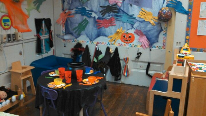 Turn your dramatic play center into a haunted house or ...
