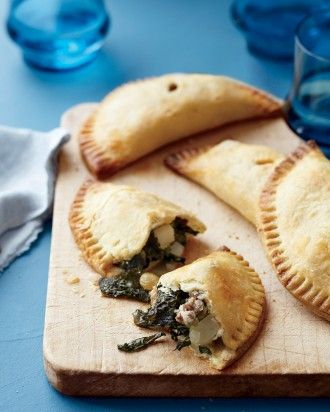 """See the """"Kale-and-Sausage Hand Pies"""" in our Healthy Kale Recipes gallery"""