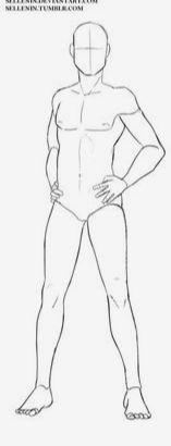 Anime Positions De Kera Corpo Masculino Anime Masculino Desenhos