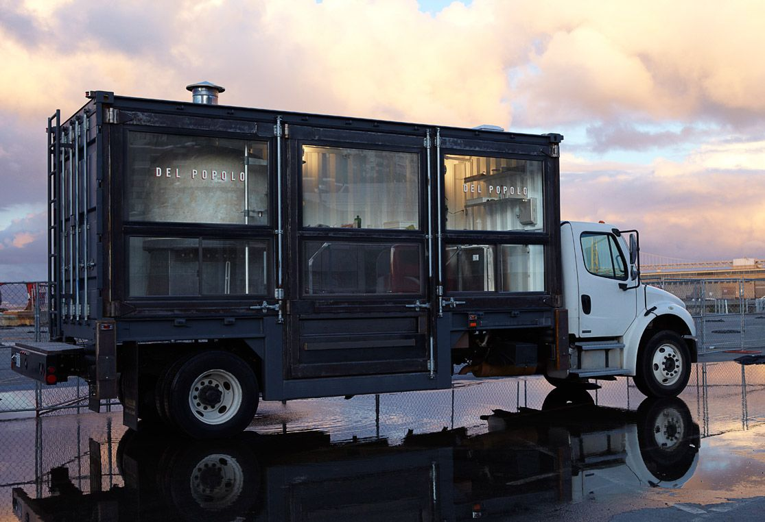 Seriously. Cool. Food. Truck.     Del Popolo San Francisco : A Mobile Pizzeria