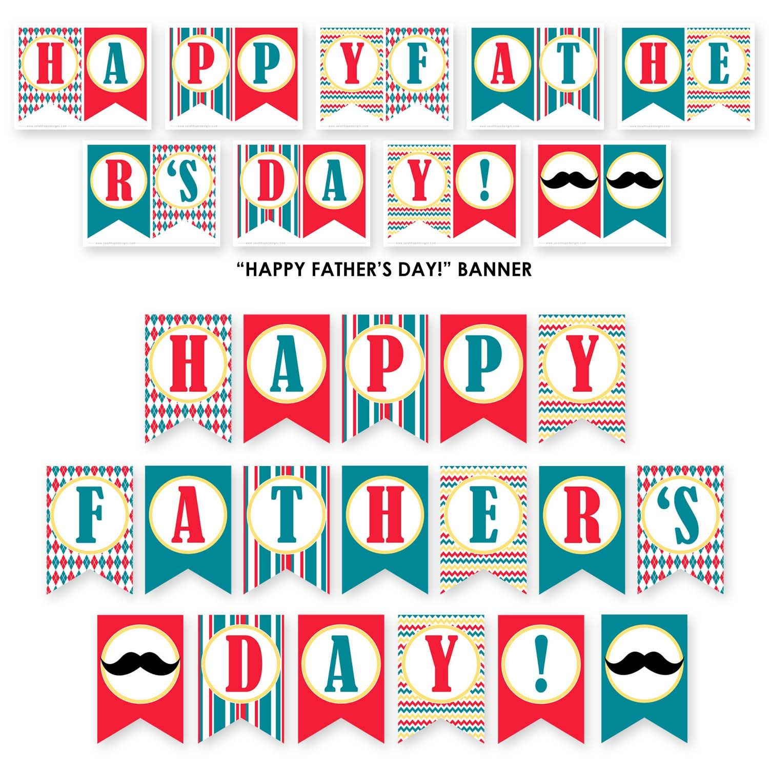 FREE Father's Day Party Printables from Sarah Hope Designs ...