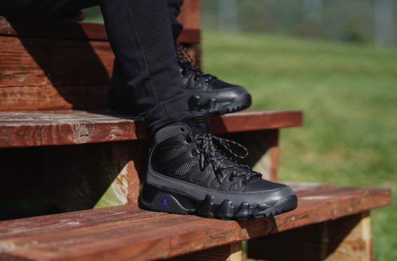 Air Jordan 9 Boot Black Concord Ready