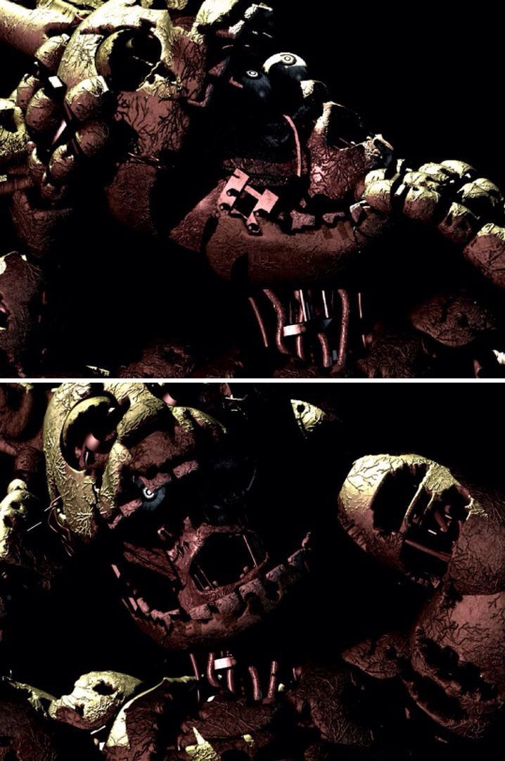 Fnaf 3 spring trap new animatronic five nights at freddys