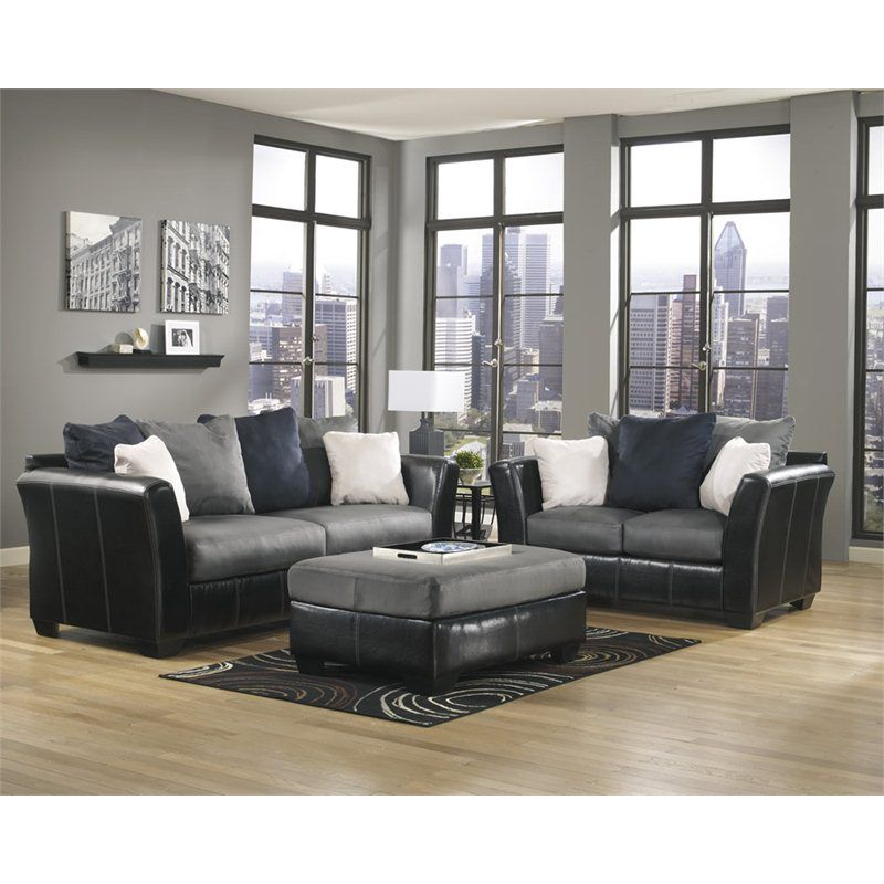 signature design by ashley furniture masoli 2 piece sofa set with rh pinterest com