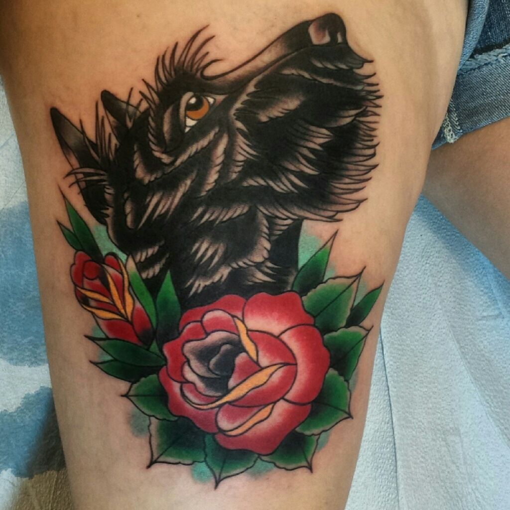 scottie dog tattoo jesse blackcat pgh tattoos pinterest tattoo dog and tatting. Black Bedroom Furniture Sets. Home Design Ideas
