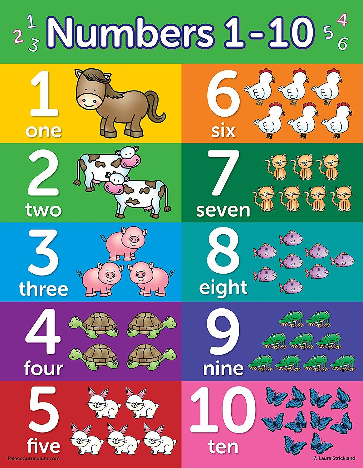 Amazon educational wall posters for toddlers abc alphabet numbers shapes colors days of the week months year also rh pinterest